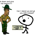 Join the military to get rich?