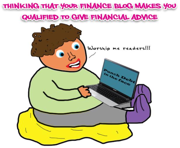 financial blogger